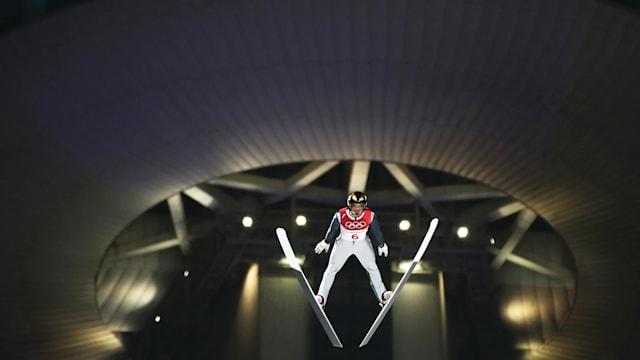 スキージャンプ