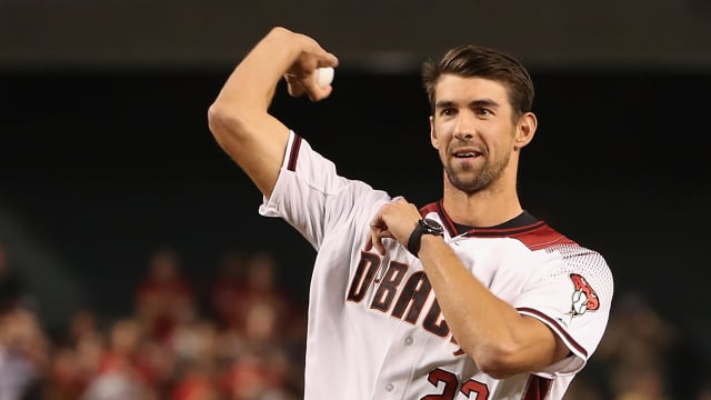 Michael Phelps baseball