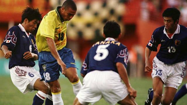 1996年、サッカー日本代表は王国ブラジルを1−0で下す「マイアミの奇跡」を演じてみせた