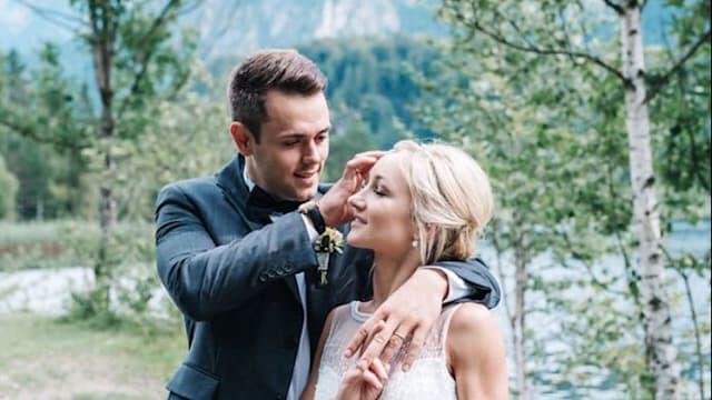 A beautiful wedding day