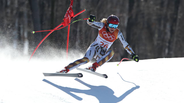 Ester Ledecka at PyeongChang 2018