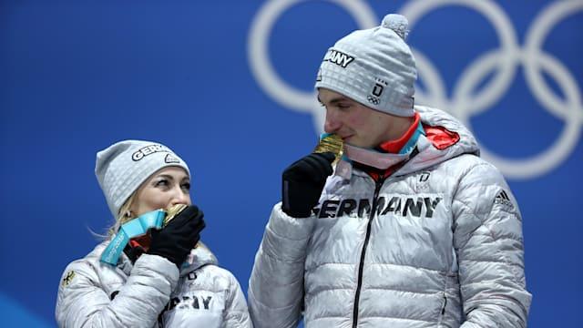 Winning Olympic gold