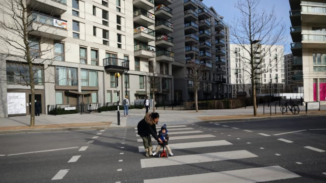 ロンドン五輪の中心地となったオリンピック・パークは大会後、公園と住宅が一つになった環境になっている