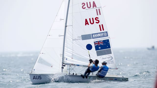 Australian 470 pair Will Ryan and Mathew Belcher