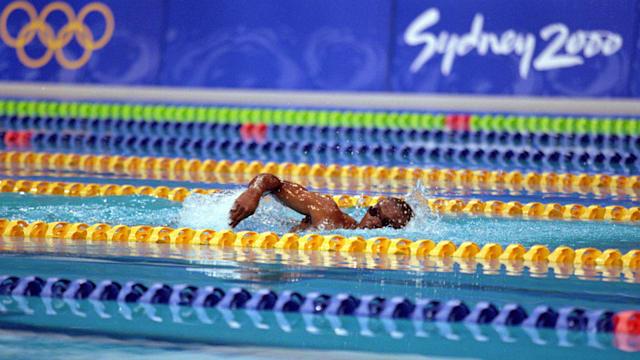 2000年のシドニー五輪では、ほぼ「水泳初級者」のエリック・ムサンバニがたった一人のレースに臨んだ