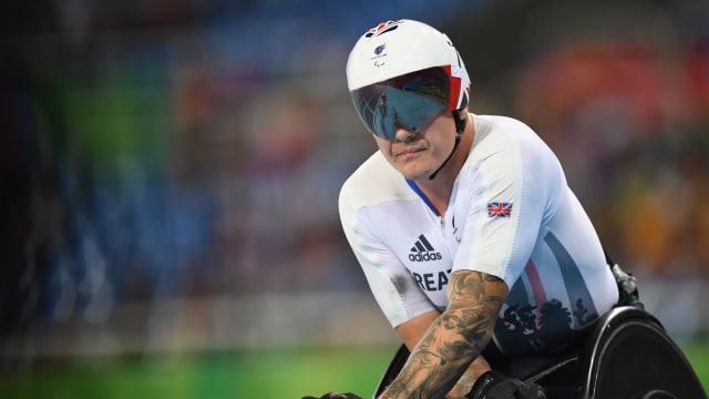 Disappointment for David Weir at Rio 2016
