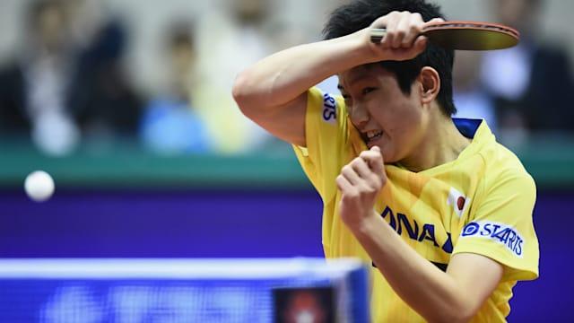 17歳で東京五輪を迎える張本智和。2018年1月の全日本選手権で史上最年少優勝を果たしている