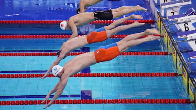 東京五輪の競泳は全35種目。各国とも最大で56名の出場権を手にすることができる