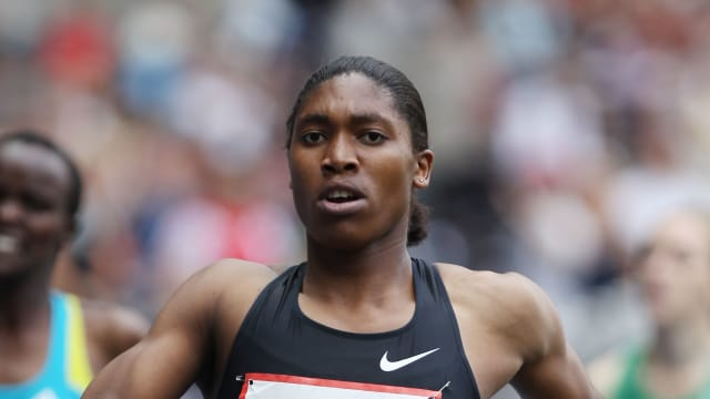 Caster Semenya wins the ISTAF 2010 800m in Berlin's Olympic Stadium where she claimed the world title a year earlier