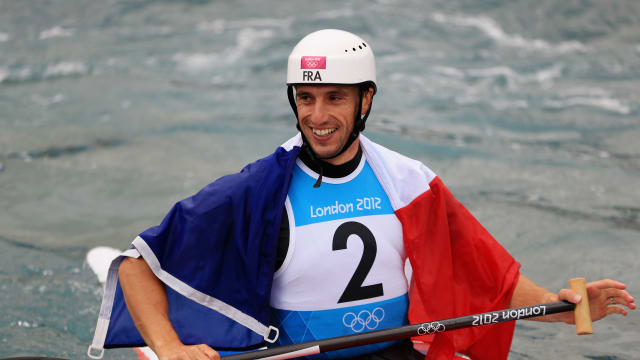 Olympic slalom canoe triple gold medallist Tony Estanguet will speak on the