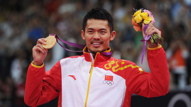 Lin Dan won Olympic gold in London and Beijing.