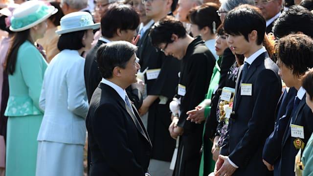 Yuzuru Hanyu meeting royal family