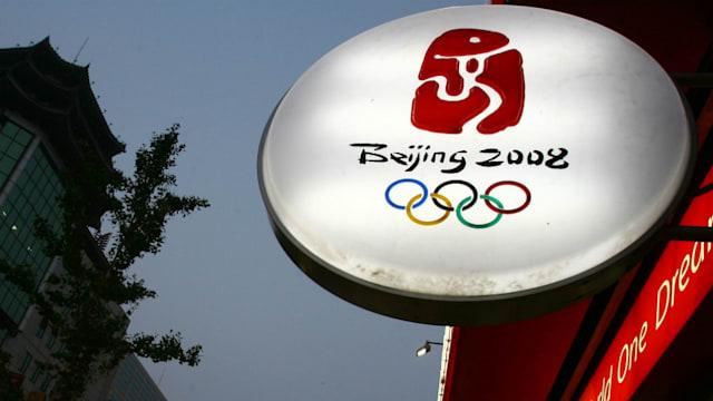 北京五輪のエンブレムの完成度は高い。印章や書道、象形文字に加え、アスリートの姿もあしらわれている