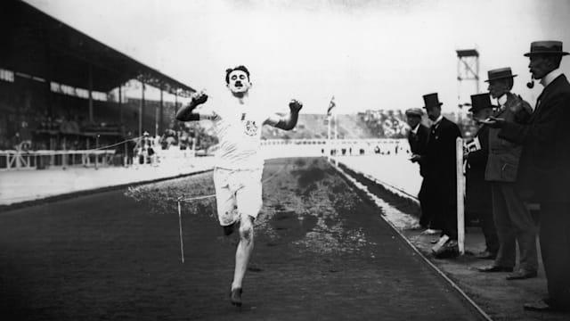 1908年、ロンドン五輪の男子400メートルではたった一人の決勝が行われている