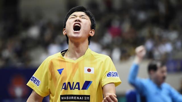 Tomokazu Harimoto won the 2018 Japan Open.