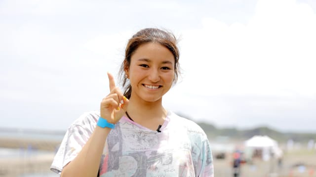 Japanese teenage surfing sensation Shino Matsuda