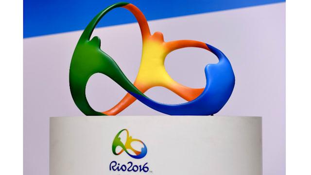 リオデジャネイロ五輪のエンブレムはオリンピック史上初めて3Dの形でも発表された