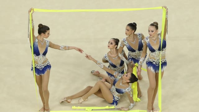 Marta Pagnini competes at Rio 2016