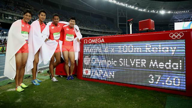 2度目のオリンピックとなったリオ五輪では4×100メートルリレーで銀メダルを獲得した