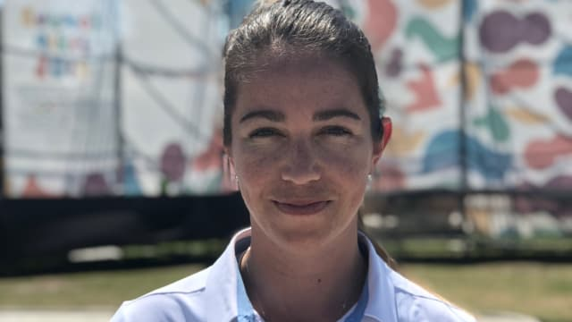 Sarah Walker in Buenos Aires for the Youth Olympic Games