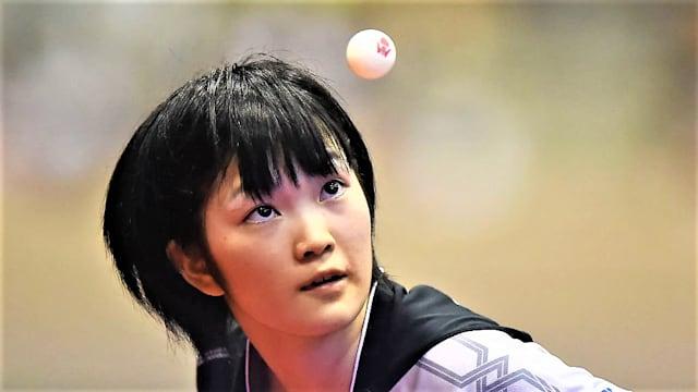 木原美悠は、シングルスとダブルスの両種目で金メダルを獲得した(写真はジャパンOPのもの)