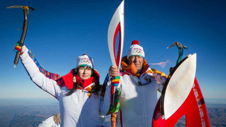 The incredible journey of the Olympic flame