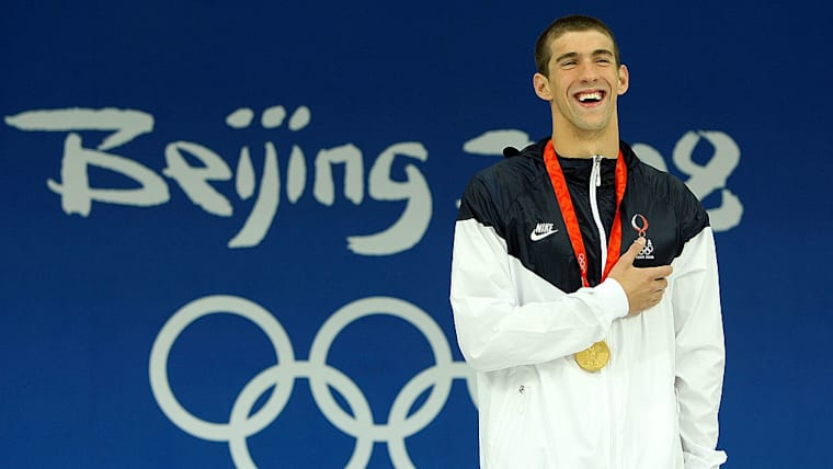 Michael Phelps II - All eight Gold Medal Races at Beijing 2008