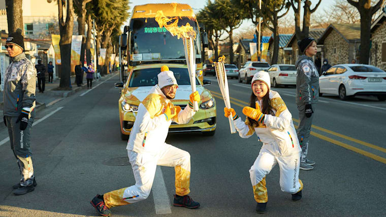 Olympic Torch Relay enters final straight