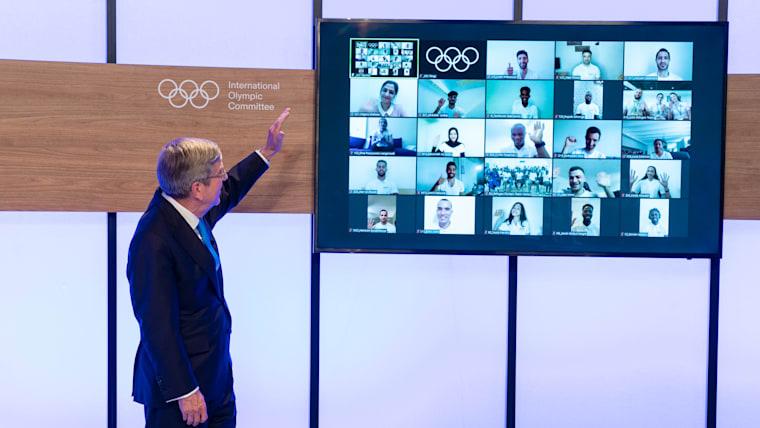 الإعلان عن تشكيلة الفريق الأولمبي للاجئين التابع للجنة الأولمبية الدولية لألعاب طوكيو 2020