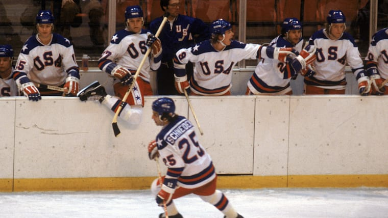 In 1980 the US Ice Hockey team, created a ''Miracle on ice''