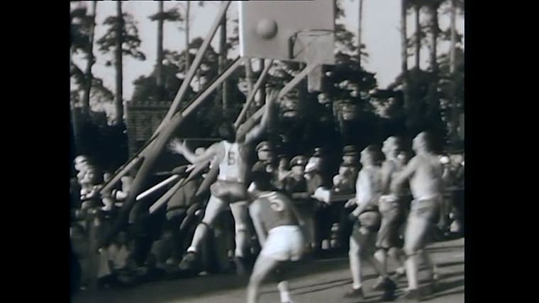 Berlin 1936 Basketball