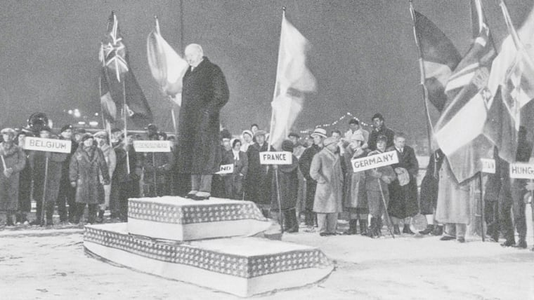 1932: the podium makes its Olympic debut