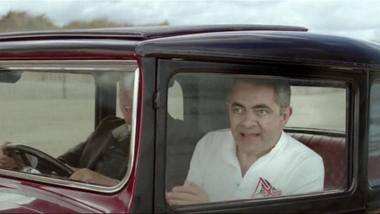 Mr Bean at the Opening Ceremony