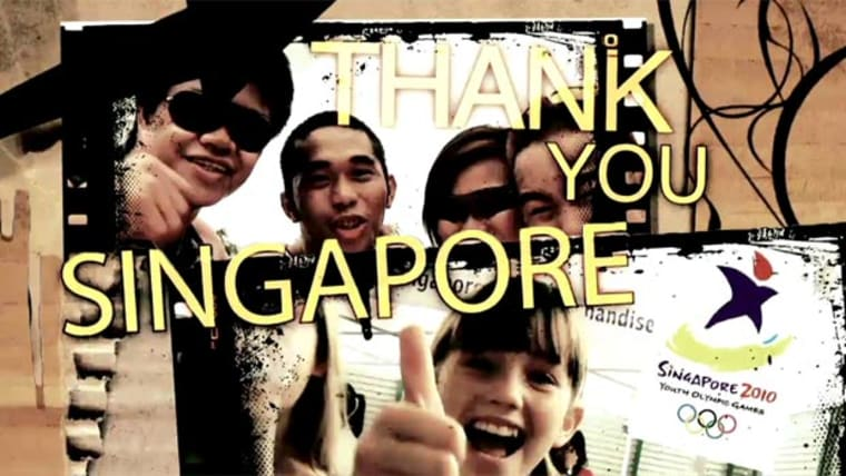 Thank you Singapore Video