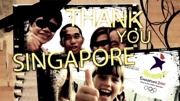 Thank you, Singapore!