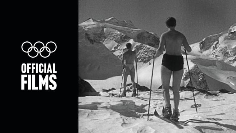 St Moritz 1928 Official Film | The White Stadium