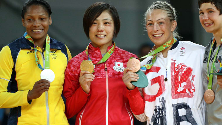 苦難の数々を乗り越え、リオ五輪での金メダル獲得という有終の美を飾った田知本遥