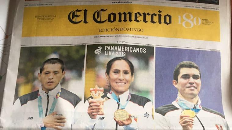 Peru's 'Golden Trio' heads up El Comercio newspaper