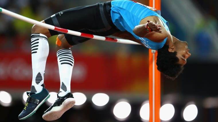 Tejaswin Shankar finished in sixth place at the 2018 Commonwealth Games.