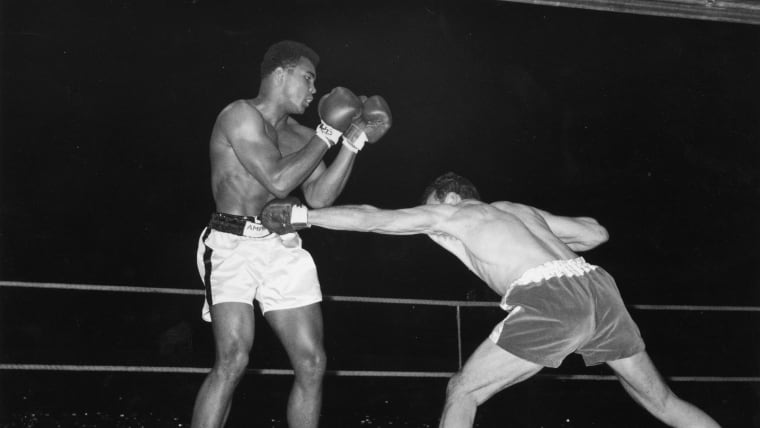 Muhammad Ali participated in the Kentucky Golden Gloves tournament when he was 15