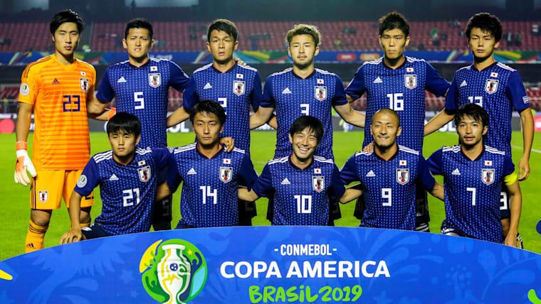 コパアメリカには東京五輪世代の選手が数多く出場し、貴重ね経験を積んだ