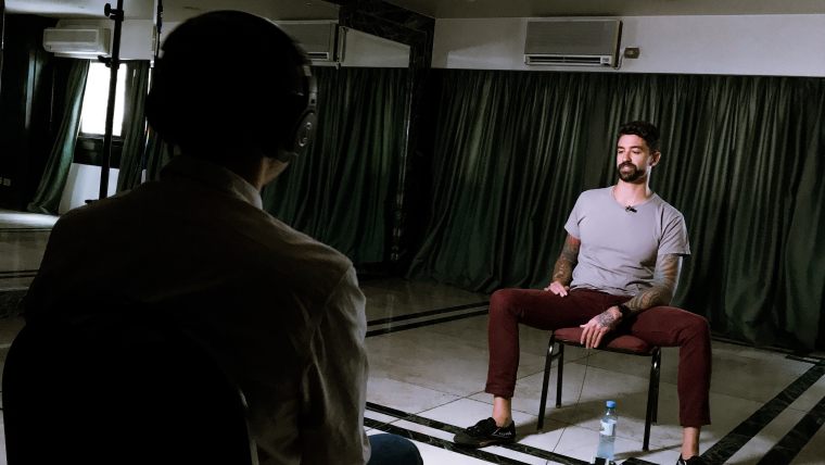 Anthony Ervin interviewed on the Olympic Channel Podcast