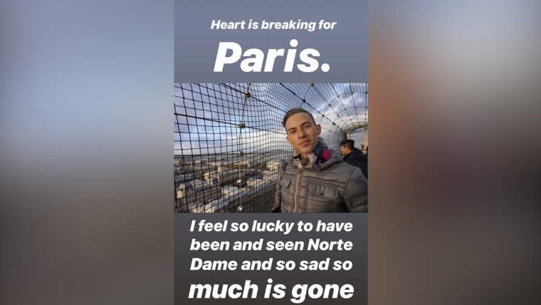 Adam Rippon's Instagram Story