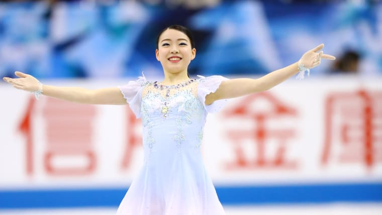 Rika Kihira bounces back from Worlds disappointment with a record-breaking World Team Trophy short program