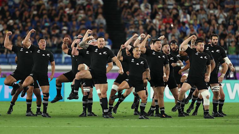優勝候補のニュージーランドが大会2戦目に臨む。日本は決勝トーナメント進出が決まれば初戦に当たる可能性がある