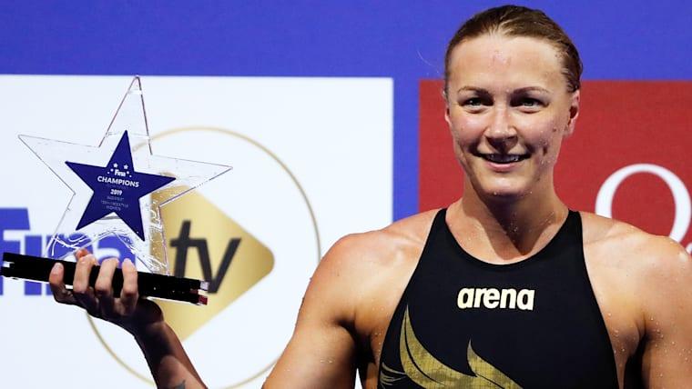 50、100mの自由形、バタフライの世界記録保持者サラ・ショーストレムは、闘病中の池江璃花子のライバルでもある