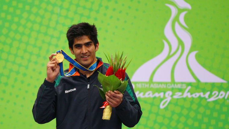 Vijender Singh trained under GS Sandhu for most of his career