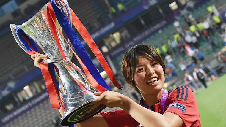 熊谷は欧州3連覇中の強豪オリンピック・リヨンでプレーしている