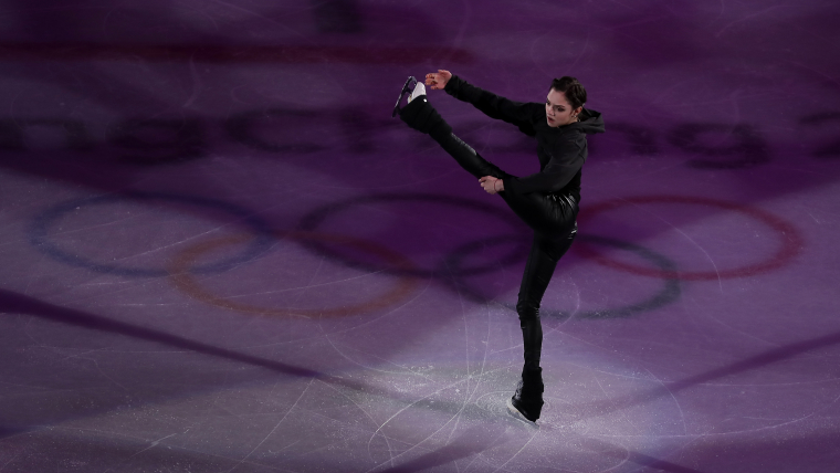Evgenia Medvedeva performs during the Gala Exhibition at the PyeongChang 2018 Winter Olympics