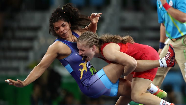 A provisional ban on Geeta Phogat meant Sakhi Malik had a shot at Olympic qualification